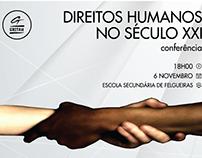 Cartaz Conferência 1 - Associação GRITAH