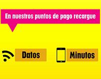 Banner para web recarga de celulares