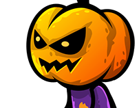 2D Game Animation - Pumpkin