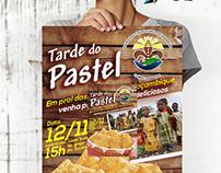Cartaz evento beneficente TARDE Do Pastel.