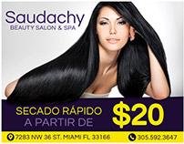 Saudachy / Flyer Publicitario
