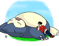 Me and my Snorlax