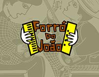 Logo Presentation | Forró do João