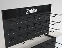 Display de balcão modular - Zalike