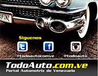 Todoauto.com.ve - Diseño Web - Artes Graficos