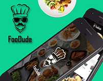 Android App | Foodude | Food Delivery App UI Set