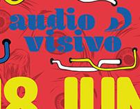 Audio Visivo - Poster de Evento.