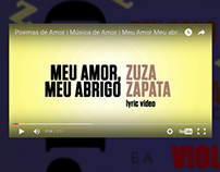 Lyric Vídeo - Meu amor, meu abrigo (Zuza Zapata)