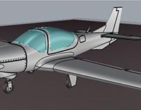 Avión Grob G120 TP