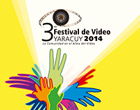 Afiche Festival de Video Yaracuy 2014