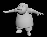 Modelagem 3D (personagem Marcão)