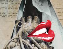 Uma coração na boca