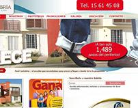 Nuevas paginas web