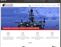 Acacia Oil Supplies (Web Corporativa)