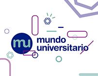 MUNDO UNIVERSITARIO. | Branding y web.