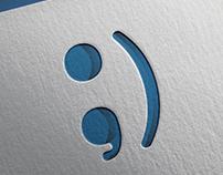 Ponto e Vírgula Logo