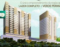 Campanha empreendimento imobiliário Boulevart Flamboyan