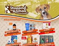 Flyer Shopping dos Animais