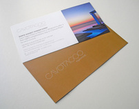 voucher and menu for hotel in Mykonos