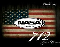 #Design Gráfico - Catálogo Nasa Capacetes 712