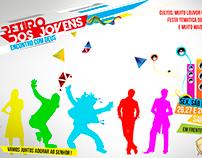 Flyer/Banner/Panfleto - Retiro de Jovens