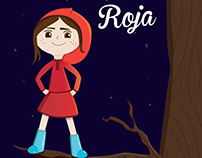 Red riding hood - children ilustration