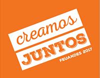 Logo y material de campaña - FEUANDES 2017