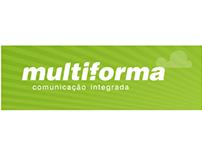 Experiência em agência de comunicação na Multiforma