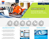 Banco Exterior Website Redesign proposal