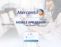 Mercantil - Mobile App Design - UI