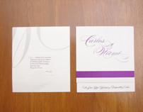 Diseño invitacion boda Carlos & Noemi