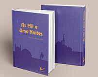 """Capa de Livro """"Mil e Uma Noites"""""""