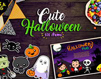 Kit Cute Halloween