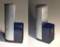 Render 3D - Garrafa térmica