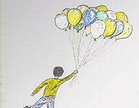 Niño de los globos