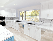 Interior design (Kitchen and Family room)