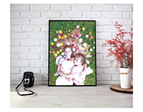 """Fotografia """"El jardín de las flores"""""""