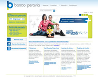 Banco Peravia - Website