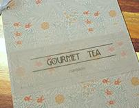 Gourmet Tea - cardápio