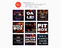 fitbox method content creation for instagram