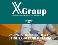 Diseño Web Xgroup