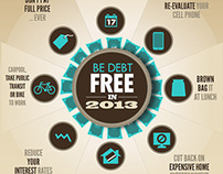 Be Debt Free in 2013