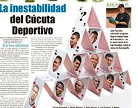 La inestabilidad del Cúcuta Deportivo