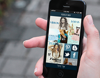 Fashion App Design (Responsive)