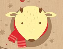 Anotador y señalador navidad