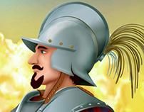 Spanish soldier S.XVI