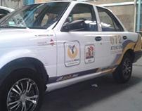 Cromática Vehículos Oficiales AGU - 072 - Cd.de México