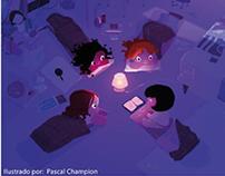 Proyecto de Pag. para Revista de Ilustración