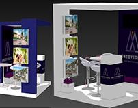 Diseño de stand publicitario