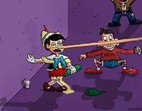 Drunk Pinocchio
